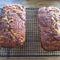 Oatmeal Pear Bread