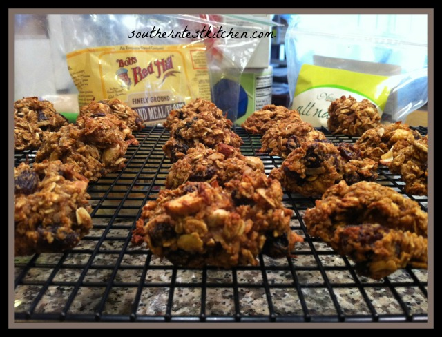 Oatmeal Raisin 'Everything' Cookies #dairyfree #glutenfree
