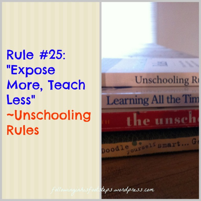 5 Books for Learning About Unschooling This Summer [and some other helpful links] www.followinginhisfootsteps.wordpress.com #unschooling #homeschool