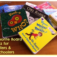9 Favorite Board Books for Toddlers & Preschoolers