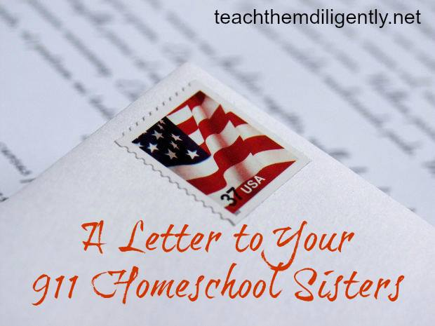 A Letter to my Sisters: Our Hope, God's Promise www.followinginhisfootsteps.wordpress.com #homeschool #encourage