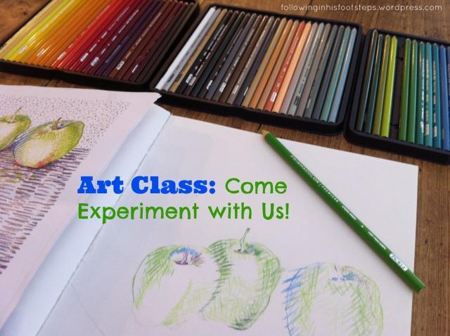 October Art Class www.followinginhisfootsteps.wordpress.com #art