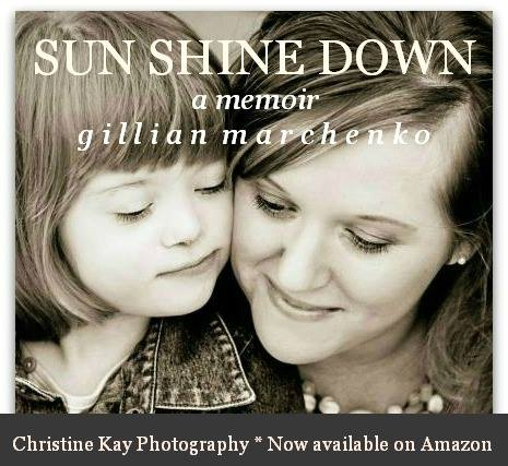 Sun Shine Down by Gillian Marchenko: An Author Interview www.followinginhisfootsteps.wordpress.com #authorinterview