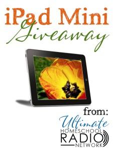 The Ultimate Homeschool Radio Network & ipad Mini Giveaway www.followinginhisfootsteps.wordpress.com #giveaways