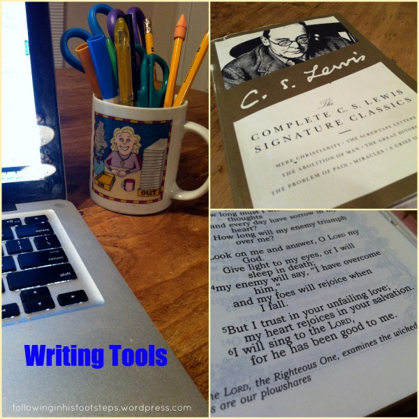 Writing Center Tools for Relaxed Homeschoolers www.followinginhisfootsteps.wordpress.com #homeschool #writing